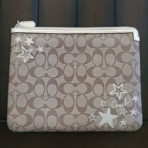 Coach signature C padded ipad case